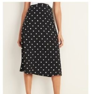 Old Navy Midi Slip Skirt